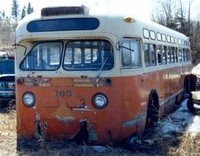 Old bus 1956